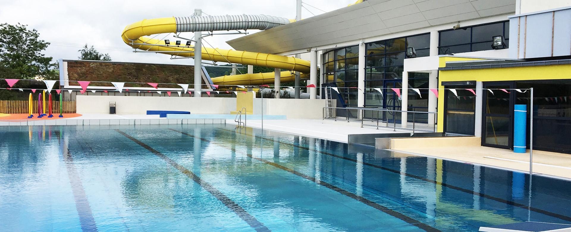 Réouverture du centre aquatique Aquaval le 8 juin