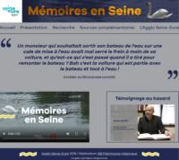 Mémoires en Seine : un portail numérique pour valoriser le patrimoine vivant du territoire