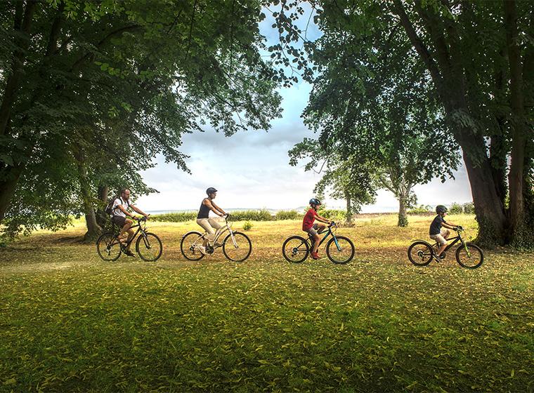 Prenez le temps de découvrir le territoire Seine-Eure en vélo