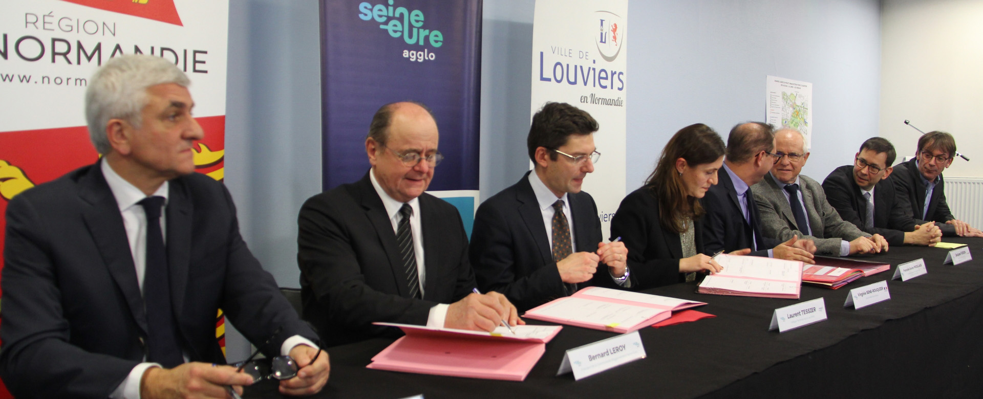 Renouvellement urbain à Louviers : C'est signé !