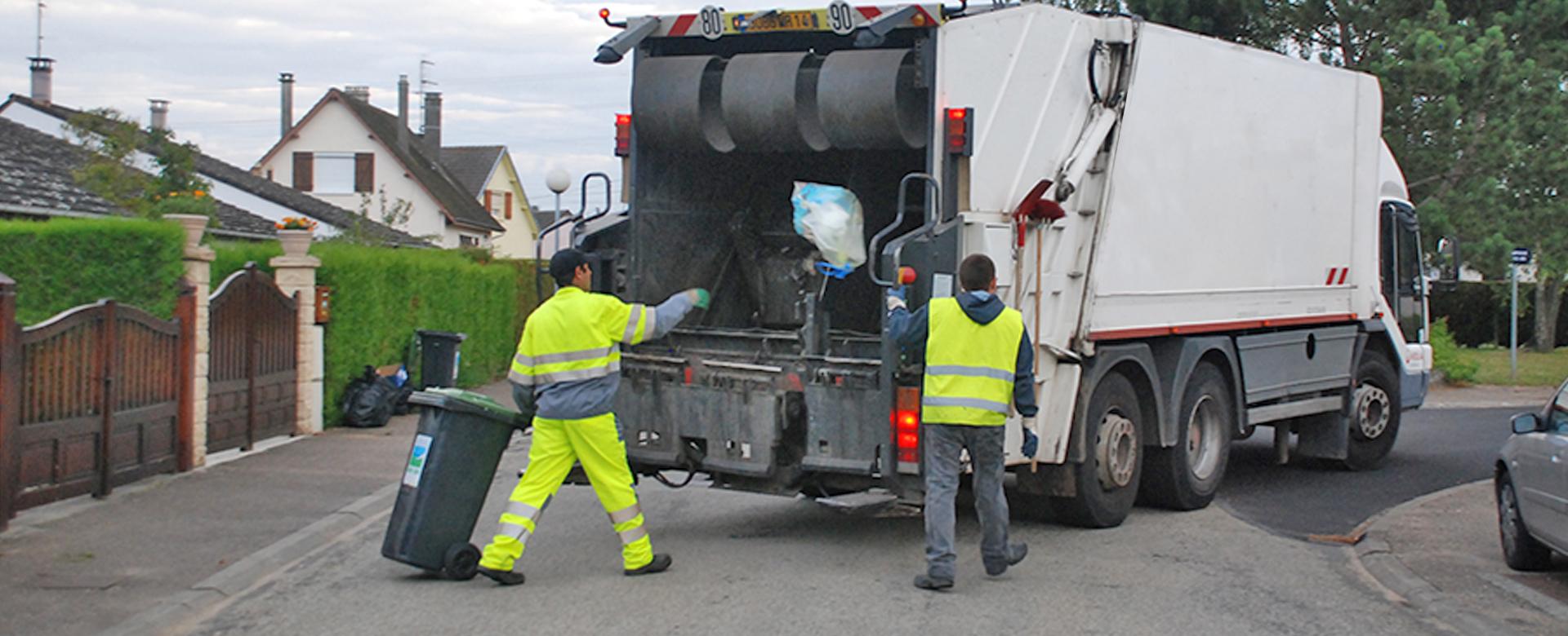 La collecte des ordures ménagères