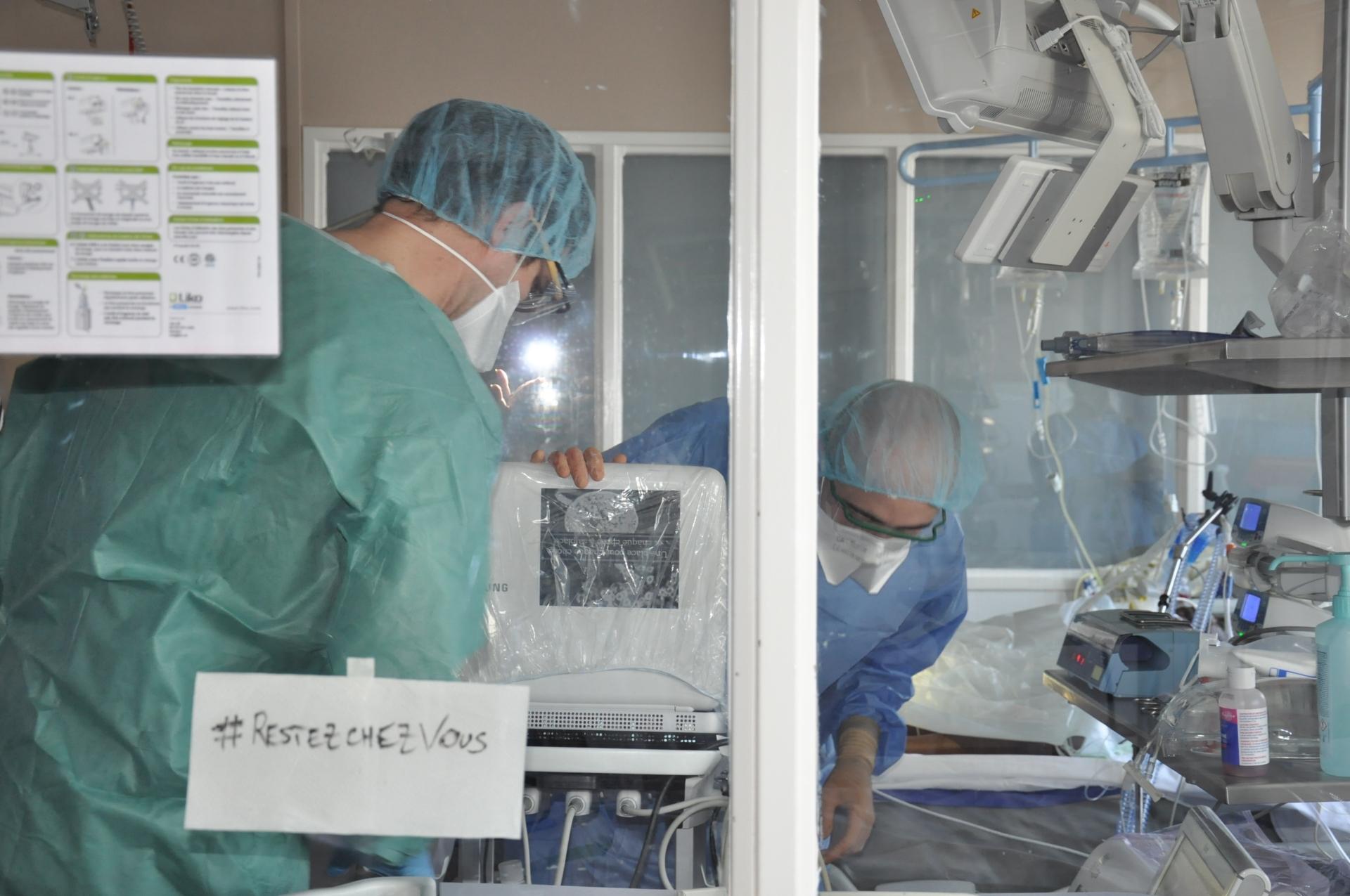 L'hôpital anticipe la phase épidémique du Covid 19