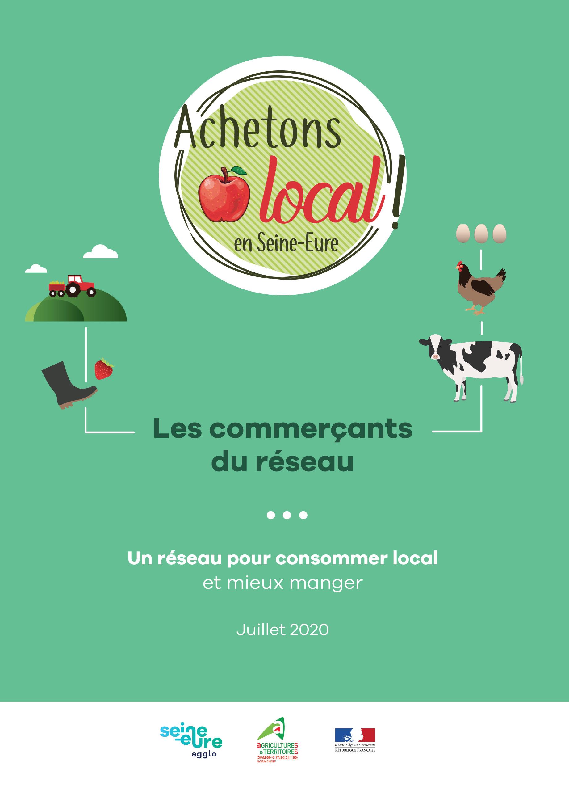 Où trouver les produits du réseau «Achetons local en Seine-Eure»