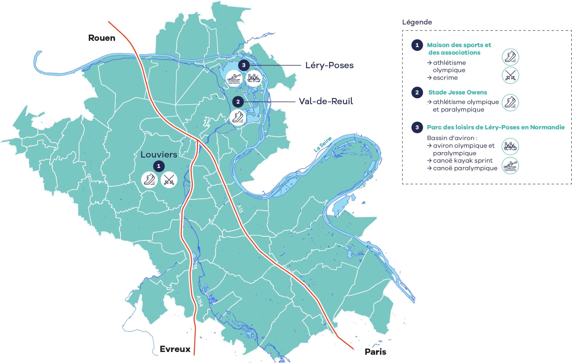 3 sites de l'Agglo retenus comme centres de préparation aux JO 2024 !