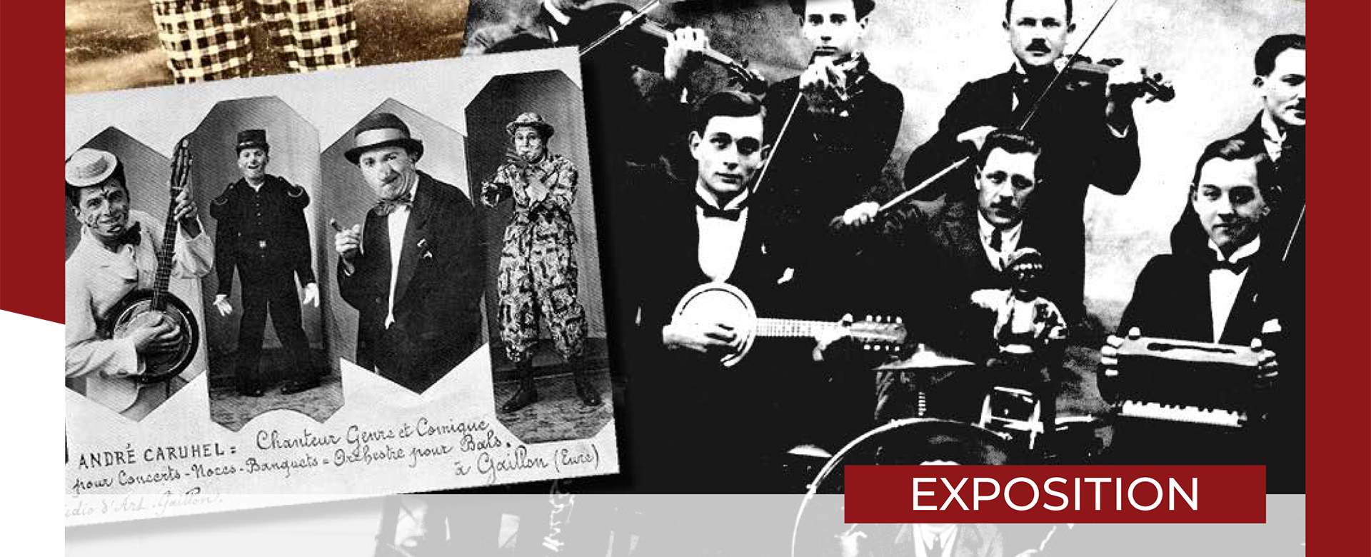 Exposition : Violoneux de noces violons de bal