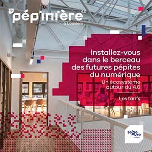 Grille tarifaire de La Pépinière – Oct 2021